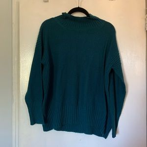 Angel Of The North Large Teal Sweater